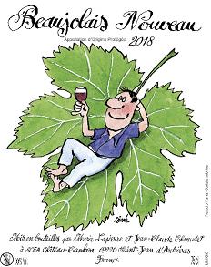【30%OFF!!】ボージョレ・ヌーヴォー [2018] ラピエール & シャヌデ <赤> <新酒> <ワイン/ボージョレ>