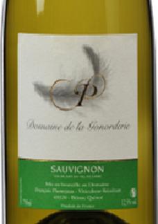 IGP ヴァル・デ・ロワール・ソーヴィニヨン [2015] ドメーヌ・ド・ラ・ゴノルデリ <白> <ワイン/ロワール>