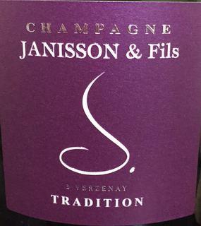 ジャニソン・エ・フィス ブリュット・トラディション NV ピノ・ノワール70%、シャルドネ30% <白> <ワイン/シャンパン>
