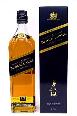 ジョニー ウォーカー 黒ラベル 12年(ジョニ黒) 40度 / 700ml / ブレンデッドウイスキー / 正規輸入品