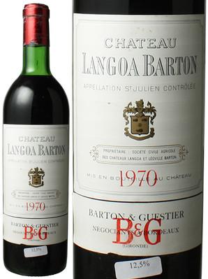 シャトー・ランゴア・バルトン [1970] <赤> <ワイン/ボルドー>