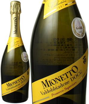 プレステージ コレクション ヴァルドッビアーデネ・プロセッコ・スペリオーレ NV ミオネット <白> <ワイン/スパークリング>