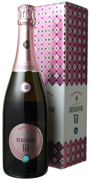 ベルルッキ61 フランチャコルタ ロゼ ギフトボックス NV ベルルッキ <ロゼ> <ワイン/スパークリング>