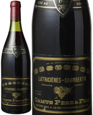 ラトリシエール・シャンベルタン [1983] カミュ ペール・エ・フィス <赤> <ワイン/ブルゴーニュ>