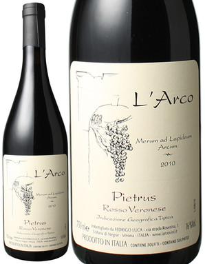 ロッソ・デル・ヴェロネーゼ ピエトルス [2010] ラルコ <赤> <ワイン/イタリア>