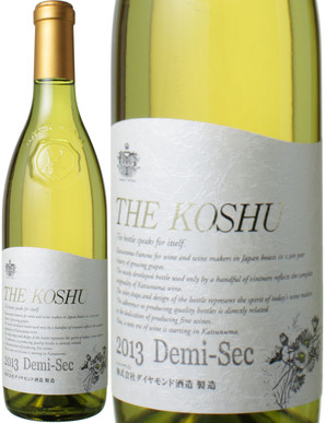THE KOSHU ドゥミ・セック [2014] ダイヤモンド酒造 <白> <ワイン/日本>