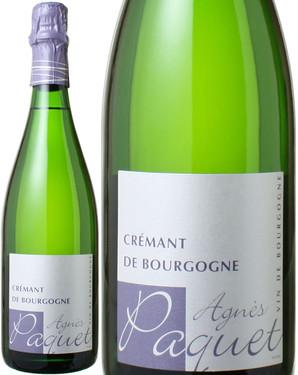 クレマン・ド・ブルゴーニュ NV アニェス・パケ <白> <ワイン/ブルゴーニュ/スパークリング>