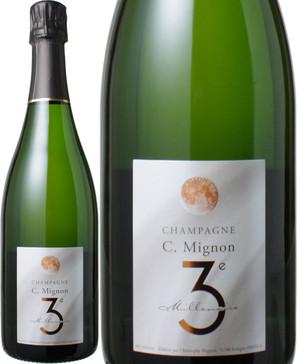 クリストフ・ミニョン トロワジュエーム ミレネール NV <白> <ワイン/シャンパン>