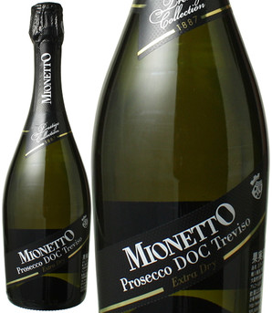 プレステージ コレクション プロセッコ トレヴィーゾ エクストラ・ドライ NV ミオネット <白> <ワイン/スパークリング>