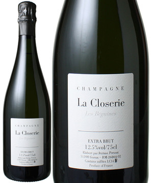 ラ・クロズリー・レ・ベギーヌ [2015] ジェローム・プレヴォー <白> <ワイン/シャンパン>