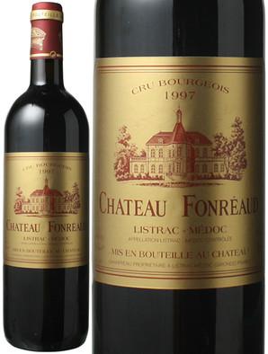 シャトー・フォンレオー (カベルネ・ソーヴィニヨン52%、メルロ45%、プティ・ヴェルド3%) [1997] <赤> <ワイン/ボルドー/リストラック・メドック>