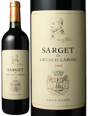 サルジェ・ド・グリュオー・ラローズ [2009] <赤> <ワイン/ボルドー>