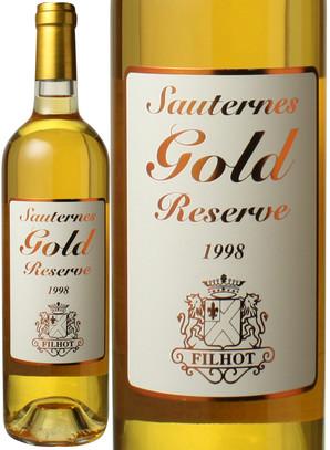 ソーテルヌ ゴールド リザーヴ [1998] シャトー・フィロー <白> <ワイン/ボルドー>