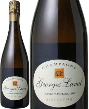 【10%OFF!!】ジョルジュ・ラヴァル キュミエール・ブリュット・ナチュール(11) NV <白> <ワイン/シャンパン>