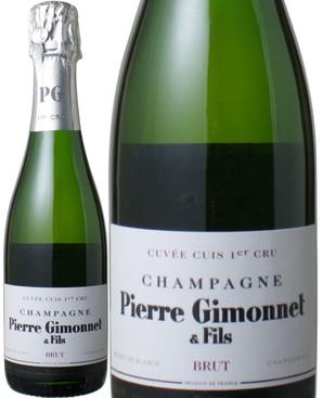 ピエール・ジモネ ブラン・ド・ブラン キュイ プルミエ・クリュ ブリュット ハーフサイズ 375ml NV <白> <ワイン/シャンパン>