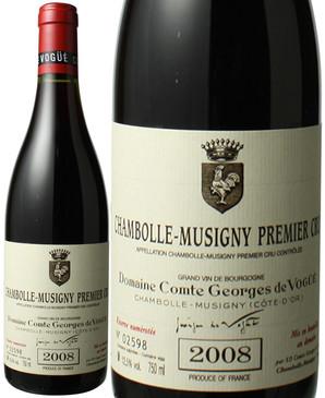 シャンボール・ミュジニー  プルミエ・クリュ [2008] コント・ジョルジュ・ド・ヴォギュエ <赤> <ワイン/ブルゴーニュ>