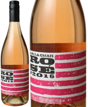 ワシントン チャールズ・アンド・チャールズ ロゼ [2016] チャールズ・スミス・ワインズ <ロゼ> <ワイン/アメリカ>