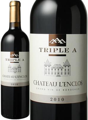 シャトー・ランクロ・トリプルA (メルロー、カベルネ・フラン) [2010] <赤> <ワイン/ボルドー>
