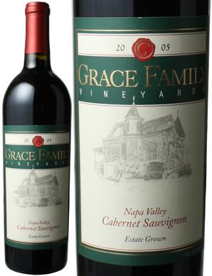 グレース・ファミリー カベルネ・ソーヴィニヨン [2005] カリフォルニア <赤> <ワイン/アメリカ>