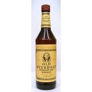 オールド オーバーホルト ライ 40度 / 750ml / ライウイスキー / 並行輸入品
