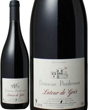 ラトゥール・ド・グレ [2015] ドメーヌ・プドルース <赤> <ワイン/ラングドック・ルーション>