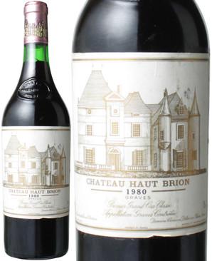 シャトー・オー・ブリオン [1980] <赤> <ワイン/ボルドー>