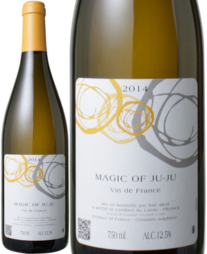 VDF ブラン・マジック・オブ・ジュジュ (シュナン・ブラン80%、グロローグリ20%) [2017] ドメーヌ・モス <白> <ワイン/ロワール>