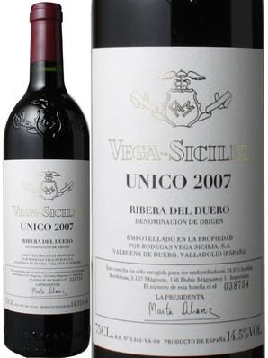 ウニコ [2007] ヴェガ・シシリア <赤> <ワイン/スペイン>