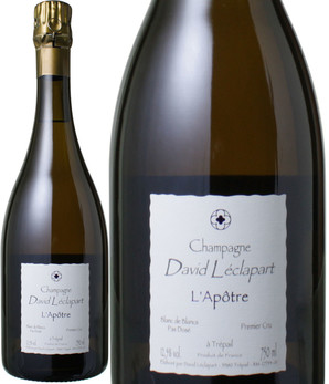 ダヴィッド・レクラパール ラポートル・ブラン・ド・ブラン [2008] <白> <ワイン/シャンパン>