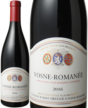 ヴォーヌ・ロマネ [2016] ドメーヌ・ロベール・シリュグ <赤> <ワイン/ブルゴーニュ>