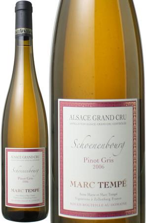 アルザス・グランクリュ ピノ・グリ シュナンブール [2009] ドメーヌ・マルク・テンペ <白> <ワイン/フランス>