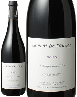VDF シラー [2015] ドメーヌ・ラ・フォン・ド・ロリヴィエ <赤> <ワイン/ラングドック・ルーション>