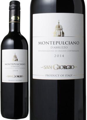 モンテプルチアーノ・ダブルッツォ [2017] サンジョルジョ <赤> <ワイン/イタリア>