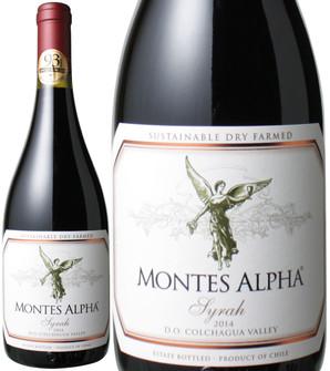 シラー [2016] モンテス・アルファ <赤> <ワイン/チリ> ※ヴィンテージが異なる場合がございます。