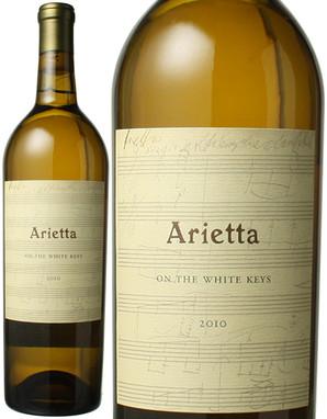 アリエッタ オン・ザ・ホワイト・キーズ [2010] <白> <ワイン/アメリカ>