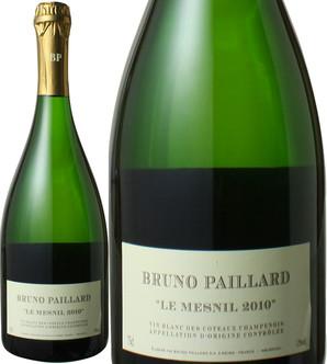 コトー・シャンプノワ ル・メニル [2010] ブルーノ・パイヤール <白> <ワイン/ フランス>