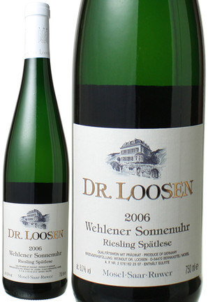 【20%OFF!】ヴェーレナー・ゾンネンウーア・シュペートレーゼ [2006] ローゼン・ブラザーズ <白・甘口> <ワイン/ドイツ>