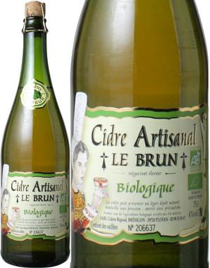 シードル・アルティサナル ビオロジック NV ル・ブラン*オーガニック <白> <ワイン/スパークリング>