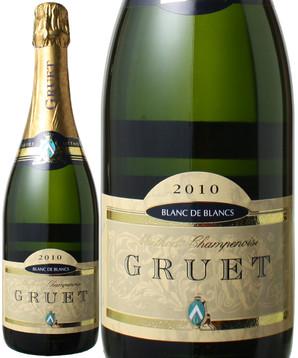 グリュエ ブラン・ド・ブラン [2010] <白> <ワイン/アメリカ/スパークリング>