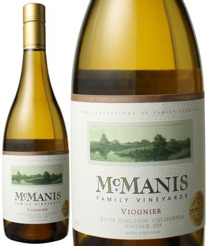 マックマニス ヴィオニエ [2017] マックマニス・ファミリー・ヴィンヤード <白> <ワイン/アメリカ>