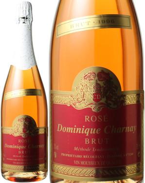 ヴァン・ムスー・ロゼ ブリュット [1996] ドミニク・シャルネー <ロゼ> <ワイン/スパークリング>