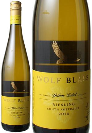 ウルフ・ブラス イエローラベル リースリング [2016] <白> <ワイン/オーストラリア>