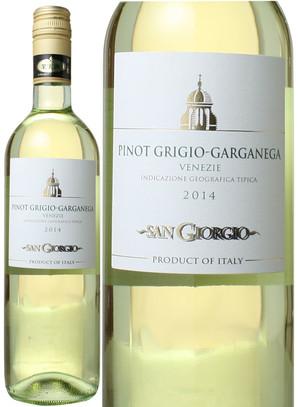 ピノ・グリージョ/ガルガーネガ [2017] サンジョルジョ <白> <ワイン/イタリア>