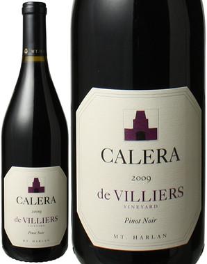 カレラ ド・ヴィリエ ピノ・ノワール マウント・ハーラン [2009] <赤> <ワイン/アメリカ>