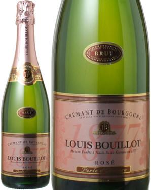 クレマン・ド・ブルゴーニュ ペルル・ド・オロール NV  ルイ・ブイヨ <ロゼ> <ワイン/ブルゴーニュ/スパークリング>