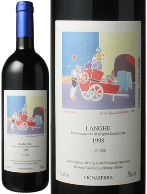 ヴィーニャセッラ [1998] ロベルト・ヴォエルツィオ  <赤> <ワイン/イタリア/ピエモンテ>