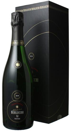 ベルルッキ61 フランチャコルタ ナチュレ ミレジマート ギフトボックス [2010] ベルルッキ <白> <ワイン/スパークリング>