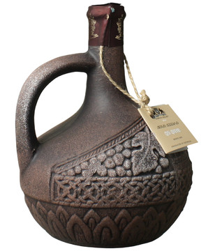 キシ クヴェヴリ 陶器ボトル [2014] <白> <ワイン/ジョージア>