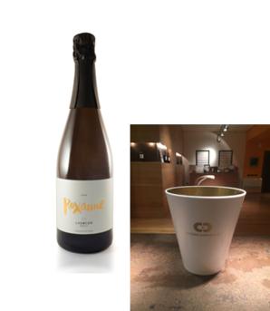 <6セット限定!インポーター直送企画> カヴァ ロクサーヌ 6本&ワインクーラーセット  [2016] チョサス・カラスカル <白> <ワイン/スペイン/スパークリング>