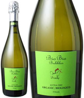 ビオ・ビオ バブルス スプマンテ オーガニック エクストラ・ドライ NV チェーロ・エ・テッラ <白> <ワイン/イタリア/スパークリング>